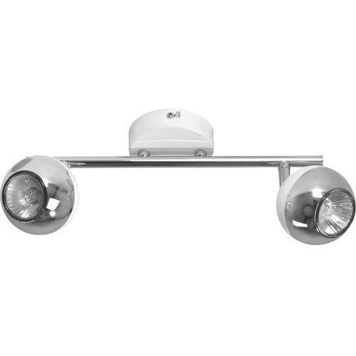 Listwa lampa oprawa sufitowa Spot Light Bianca 2x50W GU10 chrom/biały 2502228