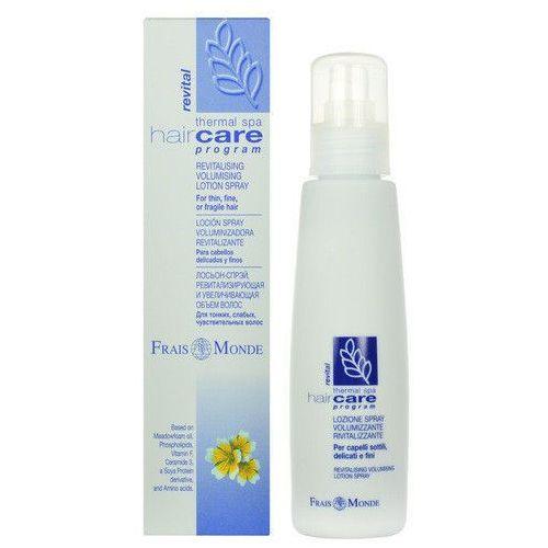 revitalising volumising lotion spray 125ml w odżywka do włosów od producenta Frais monde