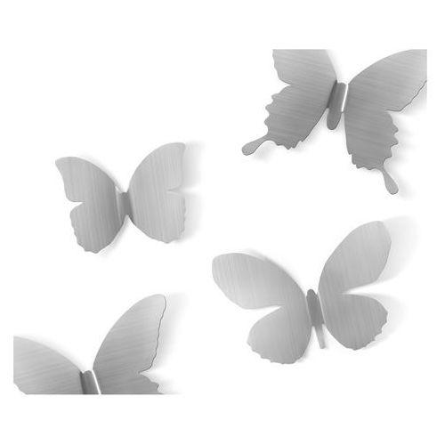 Dekoracja ścienna  metal mariposa nickel 9 elementów marki Umbra