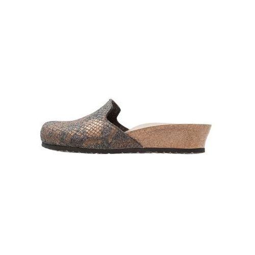 Papillio LUCY Klapki shiny anthracite (4054056686974)