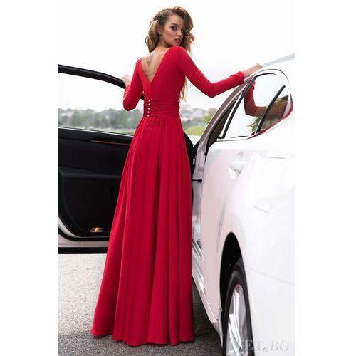 OKAZJA - Sukienka OPHELIA RED, kolor czerwony