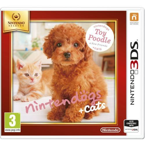 Nintendo  gra 3ds nintendogs+cats-toy poodle&new friends (select)