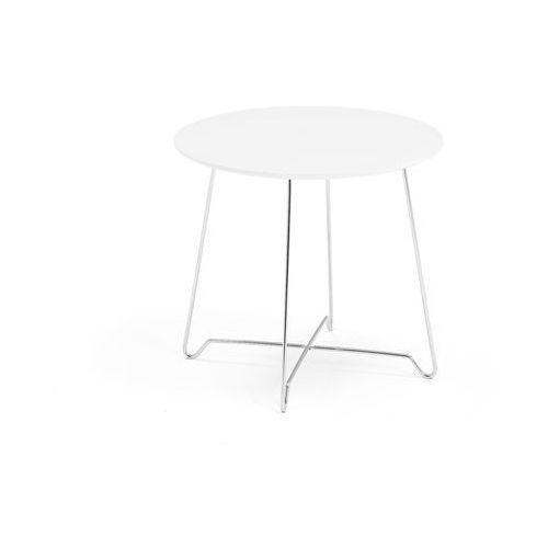 Aj produkty Stół kawowy iris, wys. 460 mm, chrom, biały