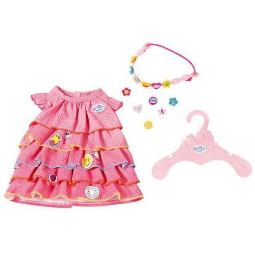 Baby Born - Letnia sukienka z przypinkami (4001167824481)
