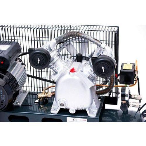 Sprężarka powietrza tłokowa kompresor tłokowy olejowy  50l v2 8bar 290l/min 230v mocna rzecz marki Jager german