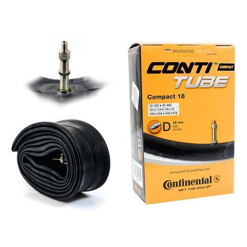 Co0181181 dętka compact 17/18'' x 1,25'' - 1,75'' wentyl dunlop 26 mm marki Continental
