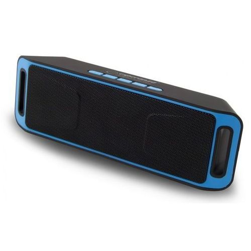 Głośnik Bluetooth FM Folk czarno-niebieski
