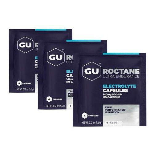 GU Energy Roctane Electrolyte Żywność dla sportowców 12 sztuk 2018 Suplementy (3076949521088)