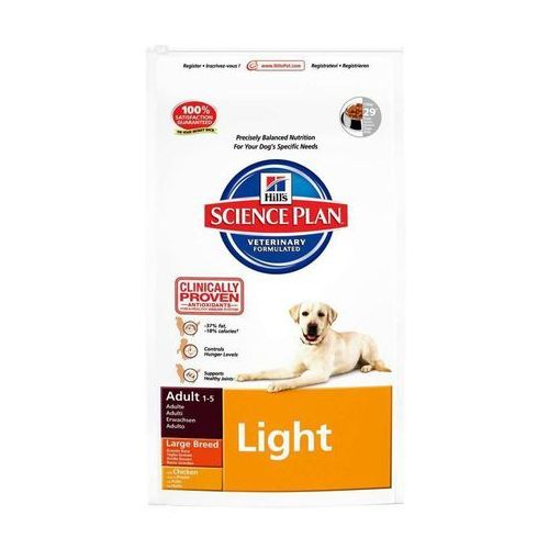 Hill's sp science plan canine adult large breed light kurczak 12kg | darmowa dostawa marki Hills