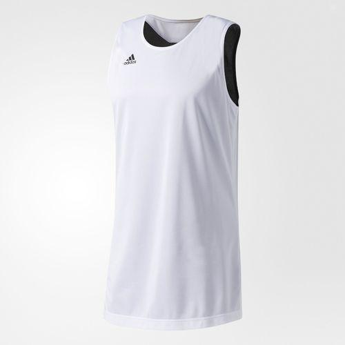 Koszulka Adidas Reversible Crazy Explosive - CD8699 - biało-czarna