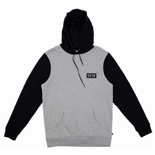 koszulka KREW - Locker Box Grey Heather Black (036) rozmiar: M