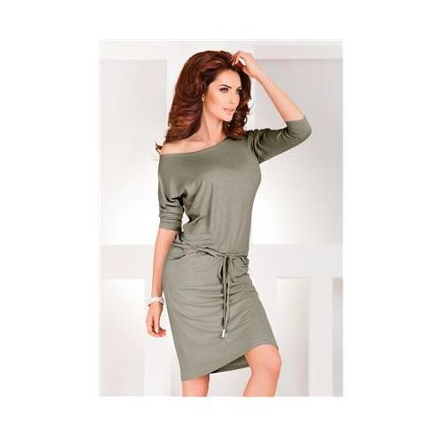 Sukienka model 13-33a grey melange, Numoco
