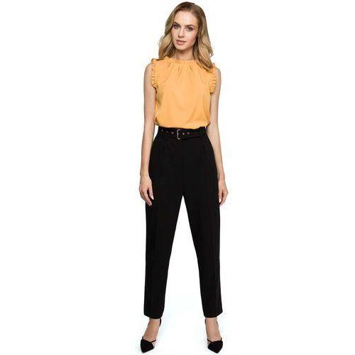 1aac4878b0143d Spodnie damskie Rodzaj: z wysokim stanem, Styl: klasyczny, ceny ...
