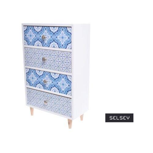 Selsey przybornik lamella z czterema szufladami (5903025803661)