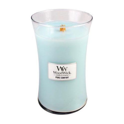 Woodwick - świeca duża pure comfort 175h