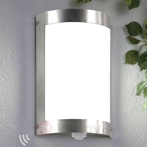Lampa ścienna zewnętrzna marco3 z czujnikiem marki Cmd creativ metalldesign gmbh