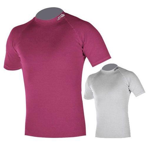 Koszulka dziecięca Fly Termo Duo inSPORTline z krótkim rękawem, Różowy, XS (98-104)
