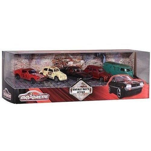 OKAZJA - Majorette zestaw rdzawe pojazdy