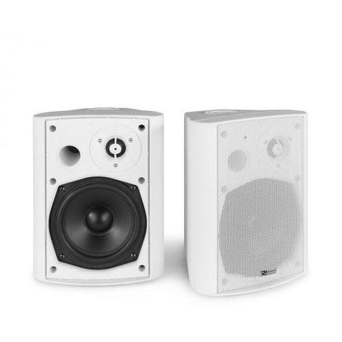 bgb50, zestaw kolumn głośnikowych, moc szczytowa 100 w, moc rms 30 w, kolor biały marki Power dynamics