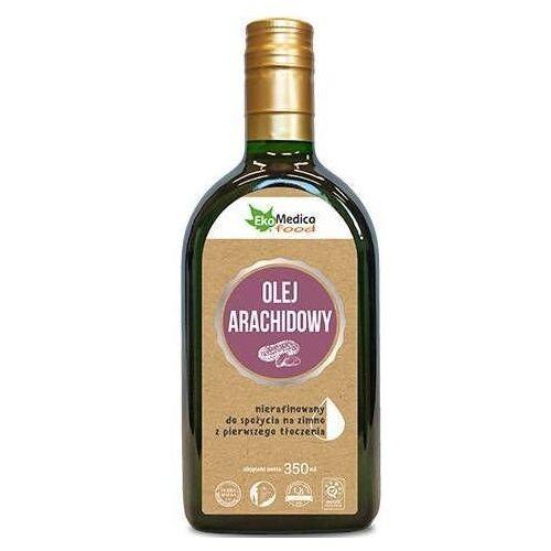Olej arachidowy z pierwszego tłoczenia nierafinowany 350ml
