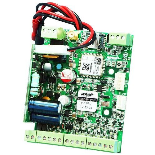 Moduł powiadomienia i sterownia GSM Ropam MultiGSM-PS-2, MultiGSM-PS-2