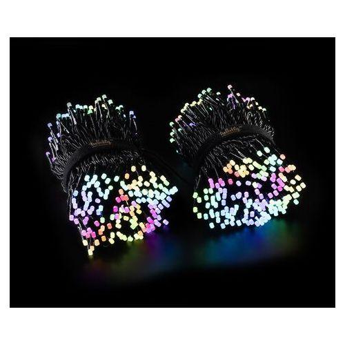Łańcuch świetny Twinkly RGB, czarny, 600-pkt. 48m (8056326672737)