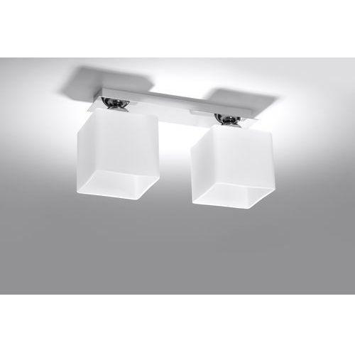 Sollux Lampa sufitowa piazza 2 chrom sl.0226 - - rabat w koszyku (5902622427256)
