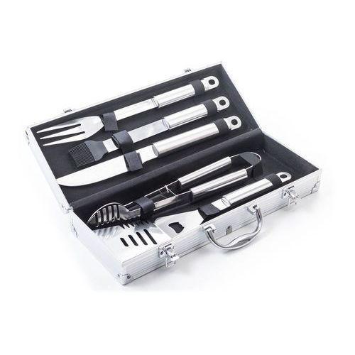 G21 Zestaw narzędzi do grillowania 5 szt z aluminiowym kuferkiem