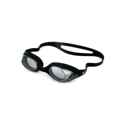 Antares Okulary pływackie silikonowe czarne
