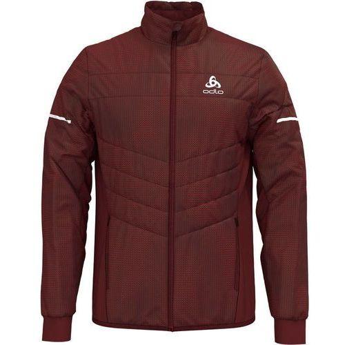 Odlo irbis x-warm kurtka do biegania mężczyźni czerwony xl 2018 kurtki do biegania