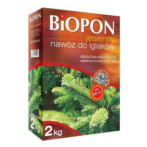 Nawóz jesienny do iglaków Biopon 2 kg