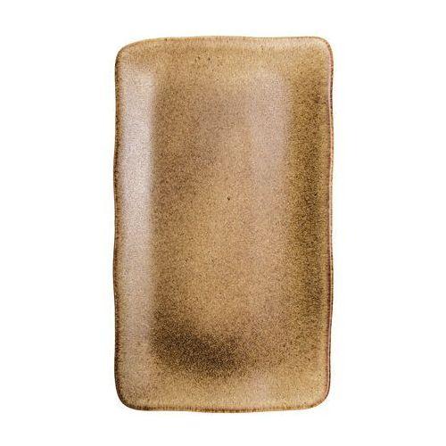 Półmisek prostokątny 365x210 mm | , brass marki Fine dine