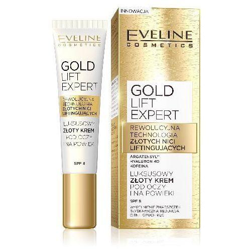 OKAZJA - Eveline Gold Lift Expert Krem pod oczy i na powieki 15ml - Eveline OD 24,99zł DARMOWA DOSTAWA KIOSK RUCHU