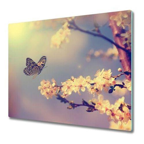 Deska do krojenia Kwiat wiśni i motyl