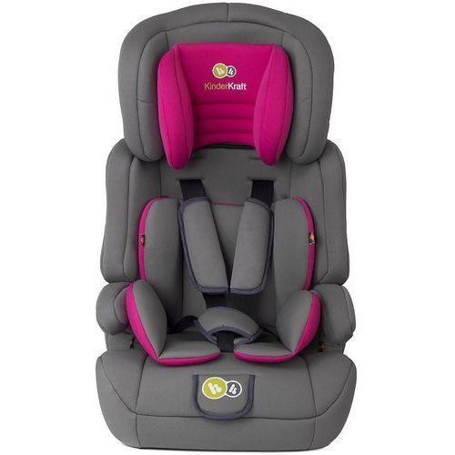 Kinderkraft Fotelik samochodowy comfort up 9-36 kg różowy -