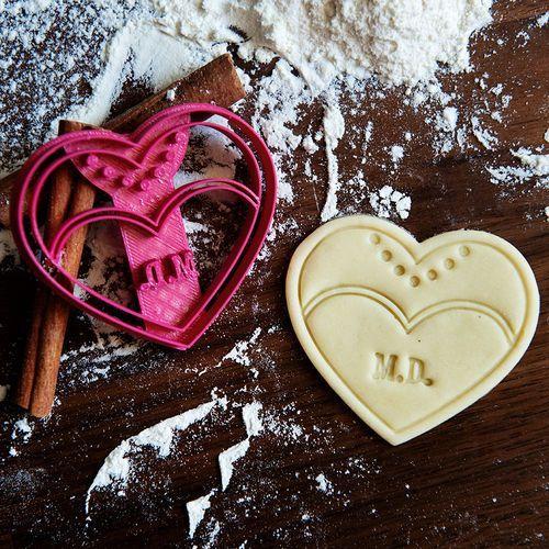 Panna Młoda - personalizowana foremka 3D do ciastek - Foremka 3D
