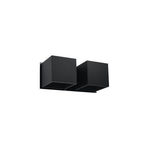 Kinkiet QUAD 2 czarny marki Sollux Lighting model SL.0657