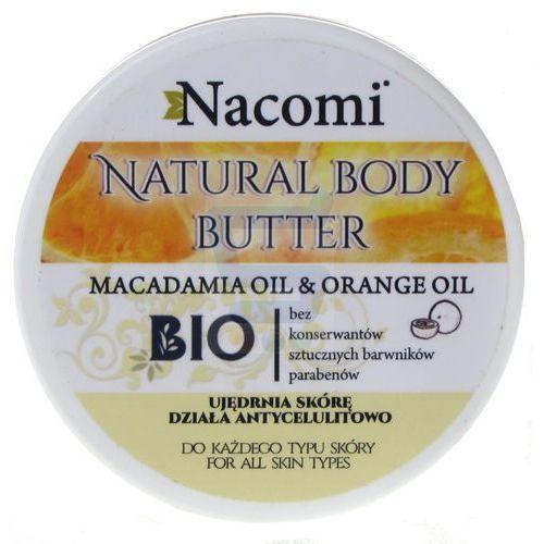 Nacomi - Balsam do ciała z masłem SHEA i olejkiem Macadamia - POMARAŃCZOWY (5901878685069)