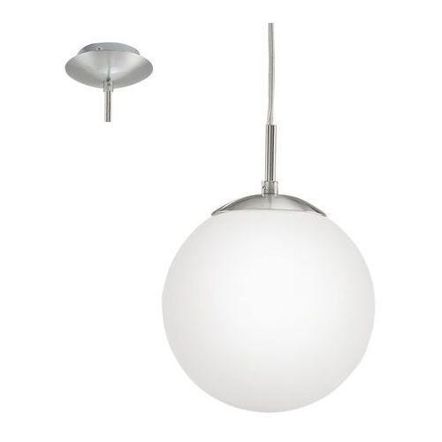 EGLO 85261 - Lampa wisząca RONDO 1xE27/60W biały