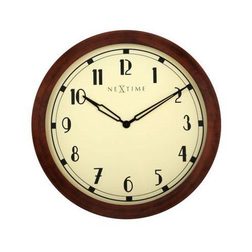Nextime:: Zegar Ścienny Royal Ø 26cm, kolor beżowy