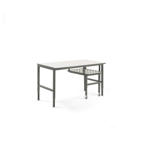 Stół roboczy cargo, z wysuwaną półką, 1600x750 mm marki Aj produkty