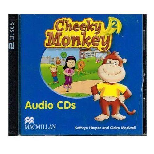 Cheeky Monkey Angielski część 2 płyty audio CD Przedszkole
