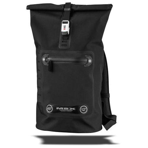 backpack 48° plecak 25l clean embossed czarny 2018 plecaki szkolne i turystyczne marki Mainstream msx