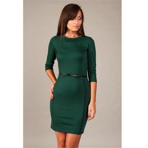 Sukienka Model Pola Dark Green