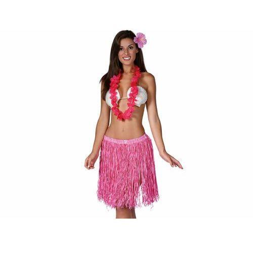 Zestaw - komplet hawajski różowy - 3 częściowy (8434077176597)