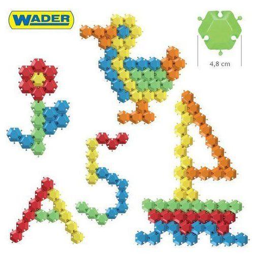 Wader Klocki puzzle 88 el. okrągłe wiaderko 41610