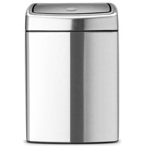 Brabantia - touch bin - kosz prostokątny 10 l - stal matowa fpp (8710755477225)
