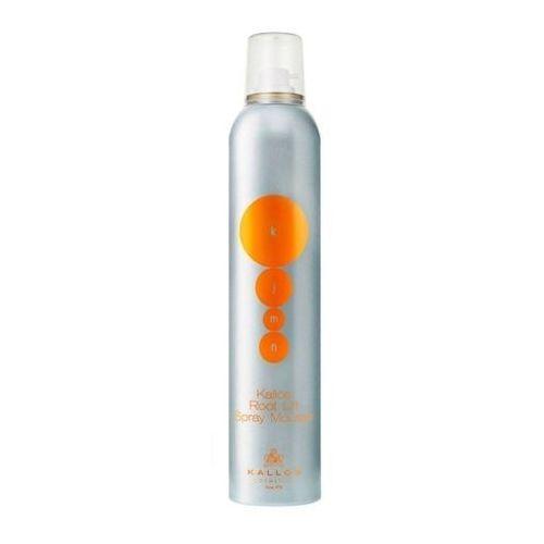 Kallos kjmn root lift spray mousse, 300 ml. pianka do podnoszenia podstawy włosów - kallos