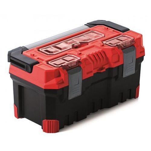 Spora Mocna Skrzynka Narzędziowa TITAN PLUS 20A Czerwona Prosperplast (5905197224787)