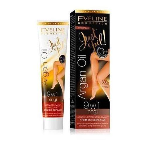 Eveline just epil argan oil krem do depilacji nóg 9w1 125ml - eveline od 24,99zł darmowa dostawa kiosk ruchu (5907609395313)